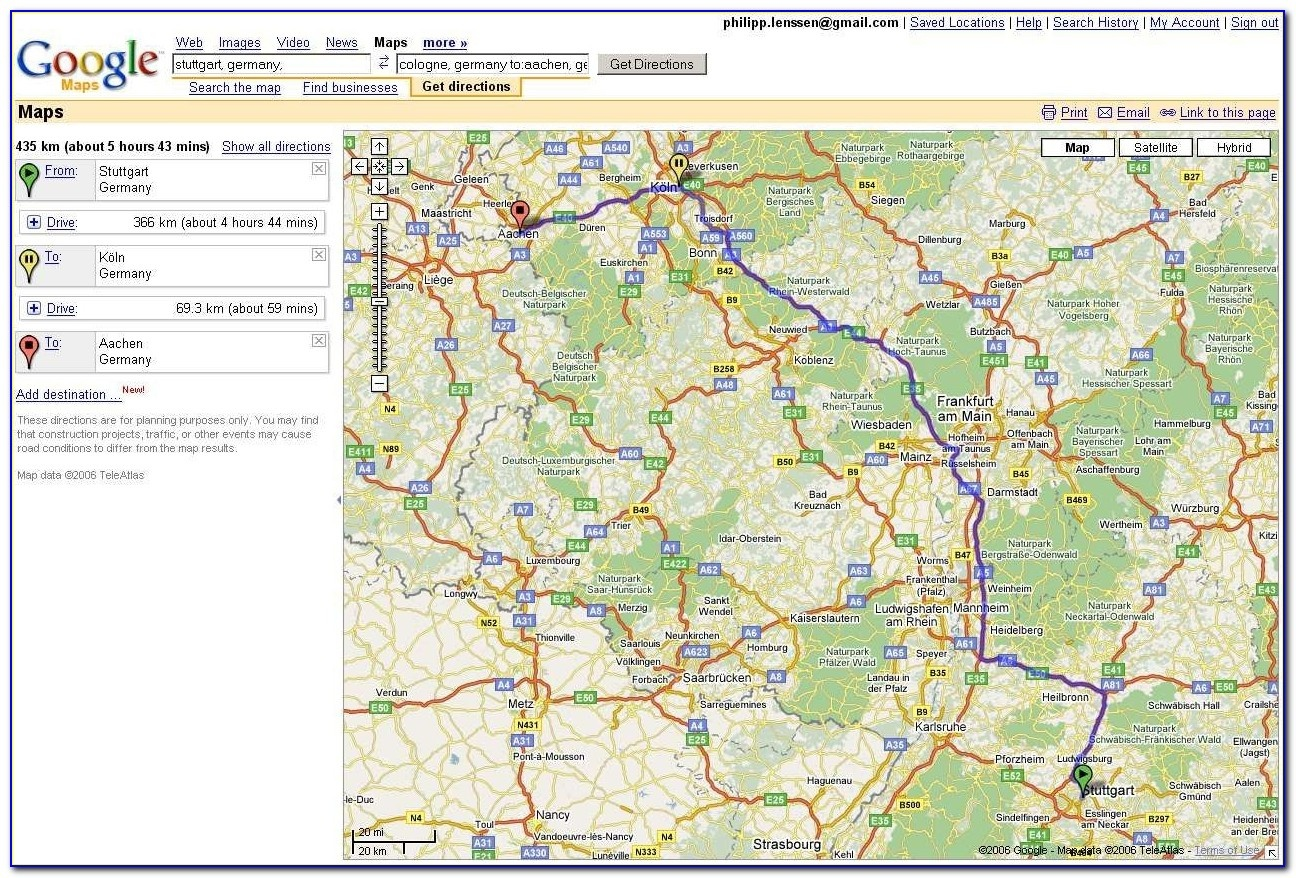 Usa Map Driving Directions Google Maps Driving Directions Free - Free Printable Driving Directions