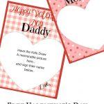 Valentine's Day Memory Keepsake Printable Cards For Parents   Free Printable Valentines Day Cards For Parents