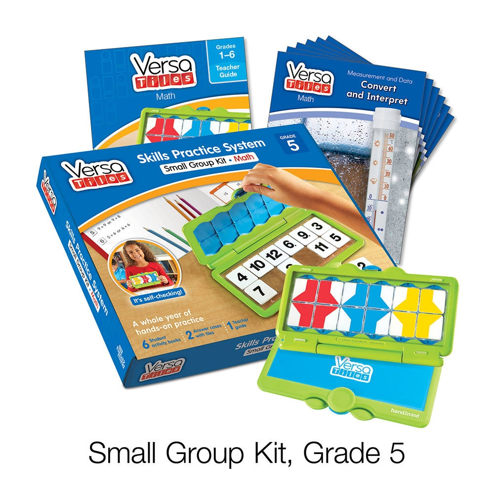 Versatiles® Math Small Group Kit, Grade 5   Hand2Mind - Free Printable Versatiles Worksheets