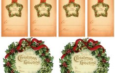 Vintage Christmas Gift Tags | Vintage Printables | Christmas Gift – Free Printable Vintage Christmas Tags For Gifts