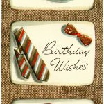 Vintage Masculine Birthday Card   Old Design Shop Blog   Free Printable Russian Birthday Cards