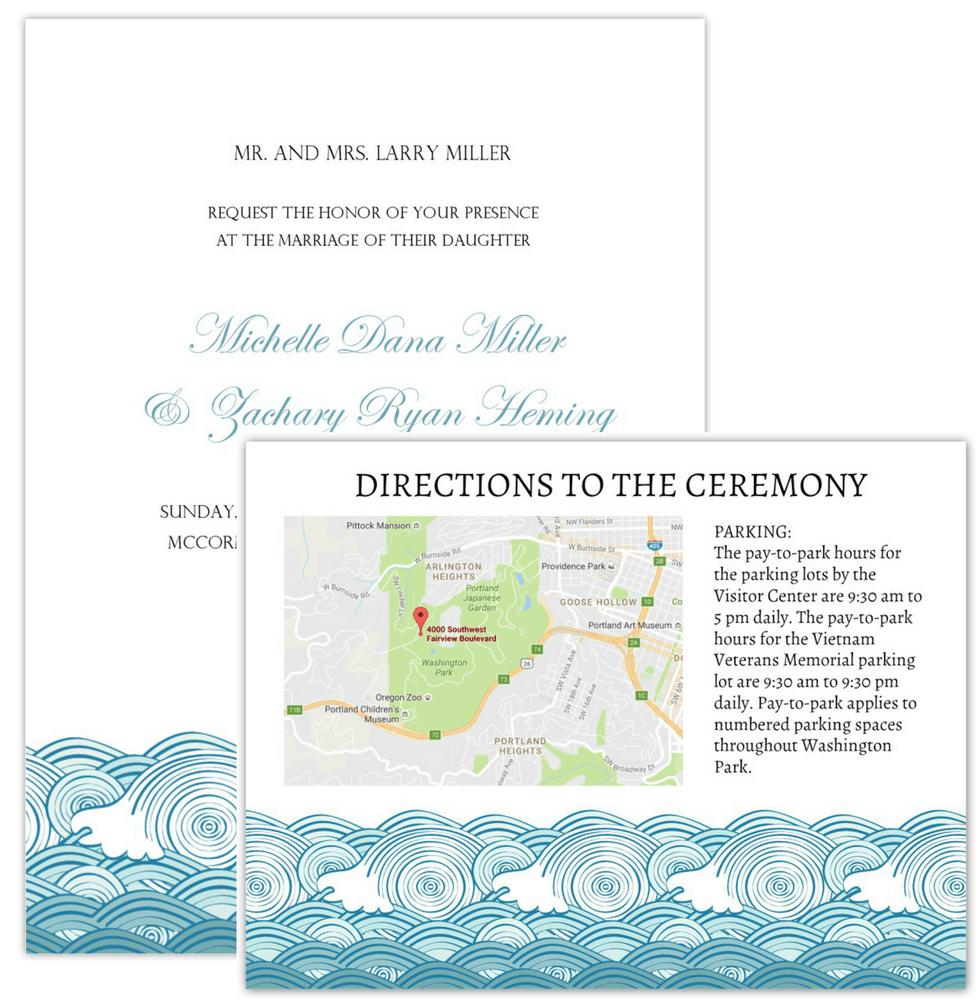 Wedding Invitation Maps - Free Printable Wedding Maps