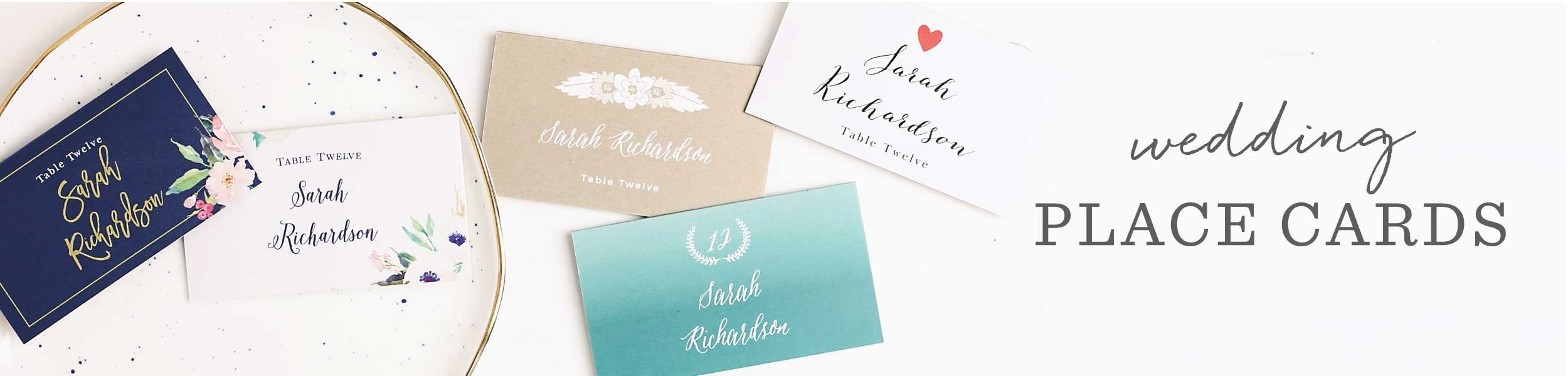 Wedding Place Cards   Free Guest Name Printing! - Basic Invite - Free Printable Damask Place Cards