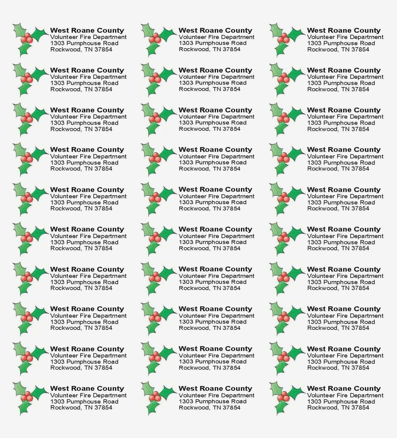 Why Is Everyone Talking About | Label Maker Ideas Information - Free Printable Christmas Return Address Label Template