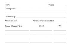 Wiitradwieri36/content/printable Silent Auction Bid Sheet 6891816 – Free Printable Silent Auction Bid Sheets