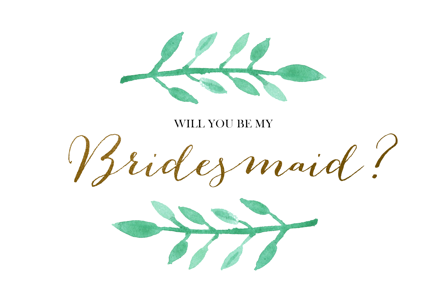 Will You Be My Bridesmaid Free Printable 6 6 X 4 • Fleurieu Weddings - Will You Be My Bridesmaid Free Printable