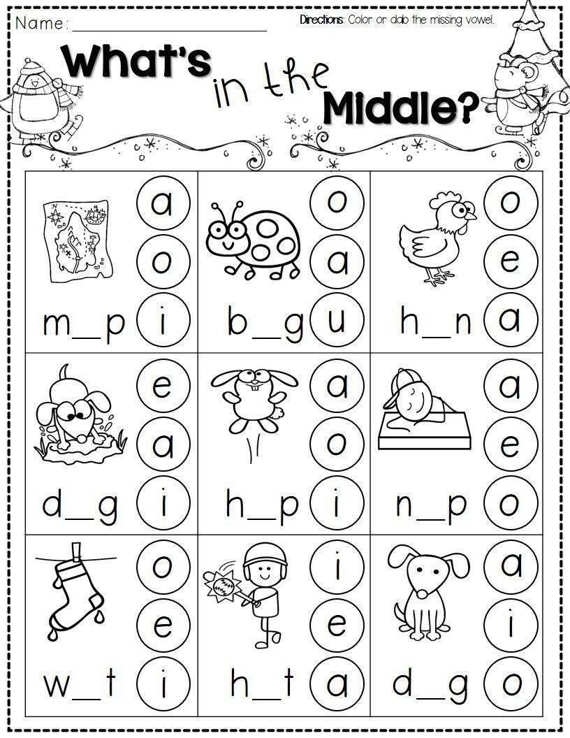 Winter Activities For Kindergarten Free | Kindergarten Literacy - Free Printable Activities