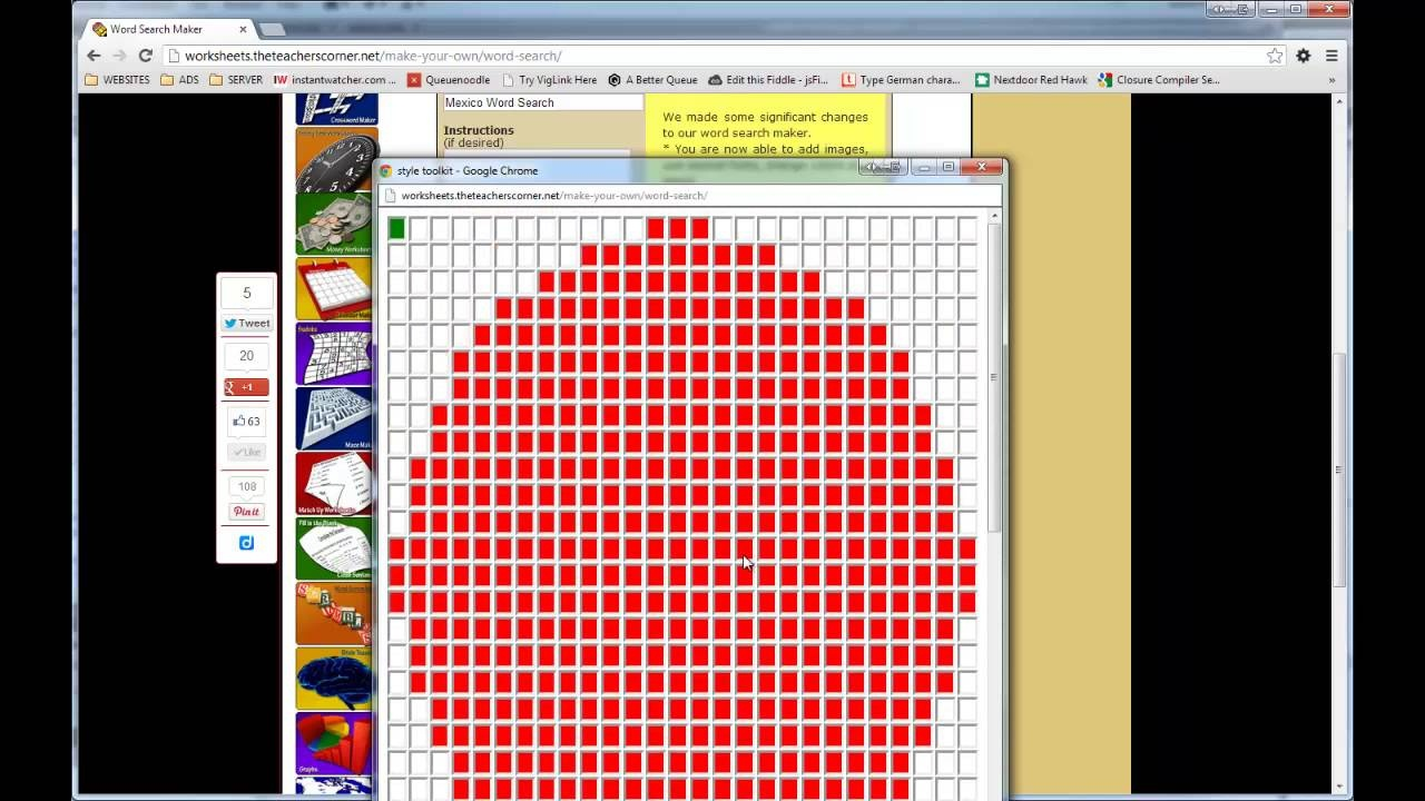 Word Search Maker   World Famous From The Teacher's Corner - Free Printable Make Your Own Word Search