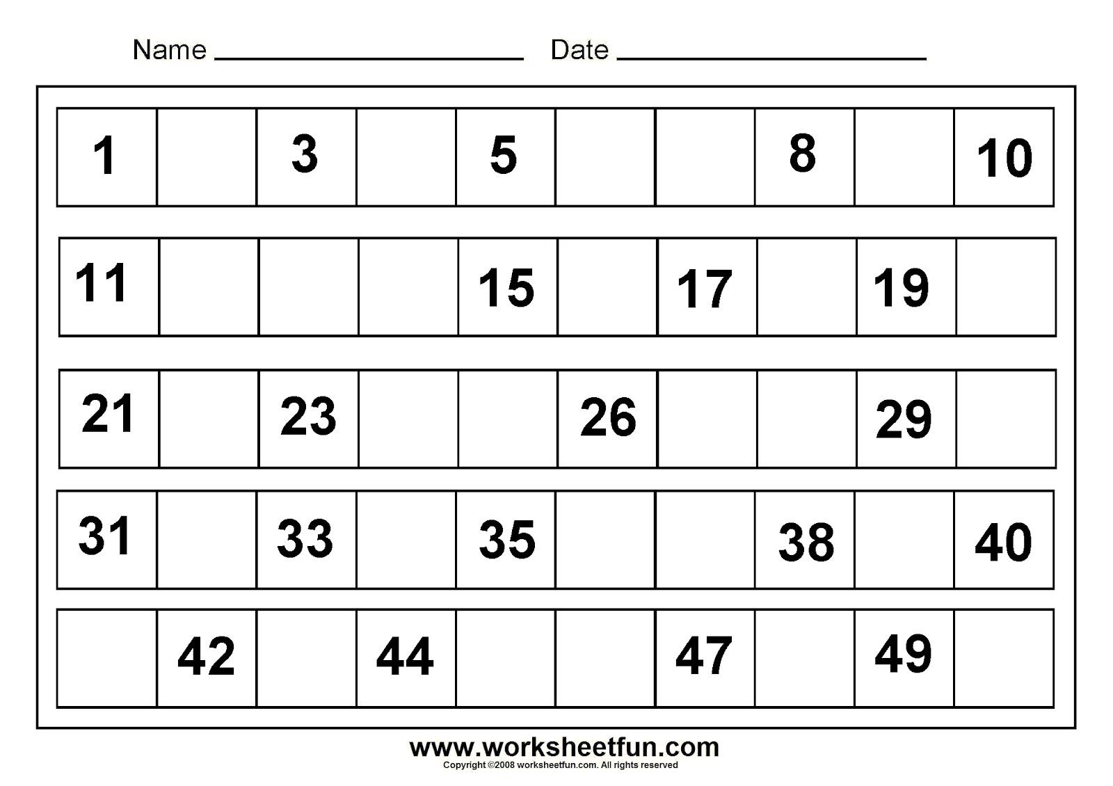 Writing Number 1-50   Tracing Numbers 1 50 Worksheets   Projects To - Free Printable Tracing Numbers 1 50
