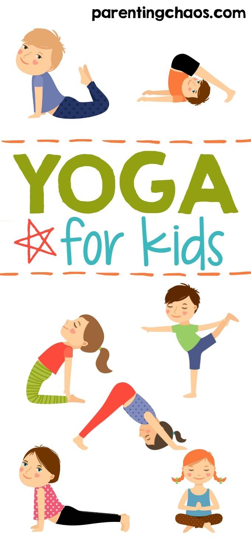 Yoga For Kids + Free Printable ⋆ Parenting Chaos - Free Printable Yoga Poses