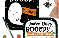 You've Been Booed Printable Signs – Super Cute And Totally Free – You Ve Been Booed Free Printable
