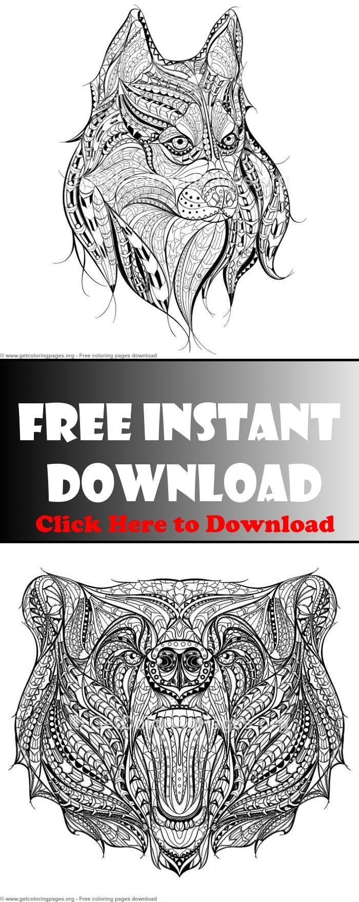 Zentangle Patterns Animals,zentangle Animals Easy,zentangle Patterns - Free Printable Zentangle Templates