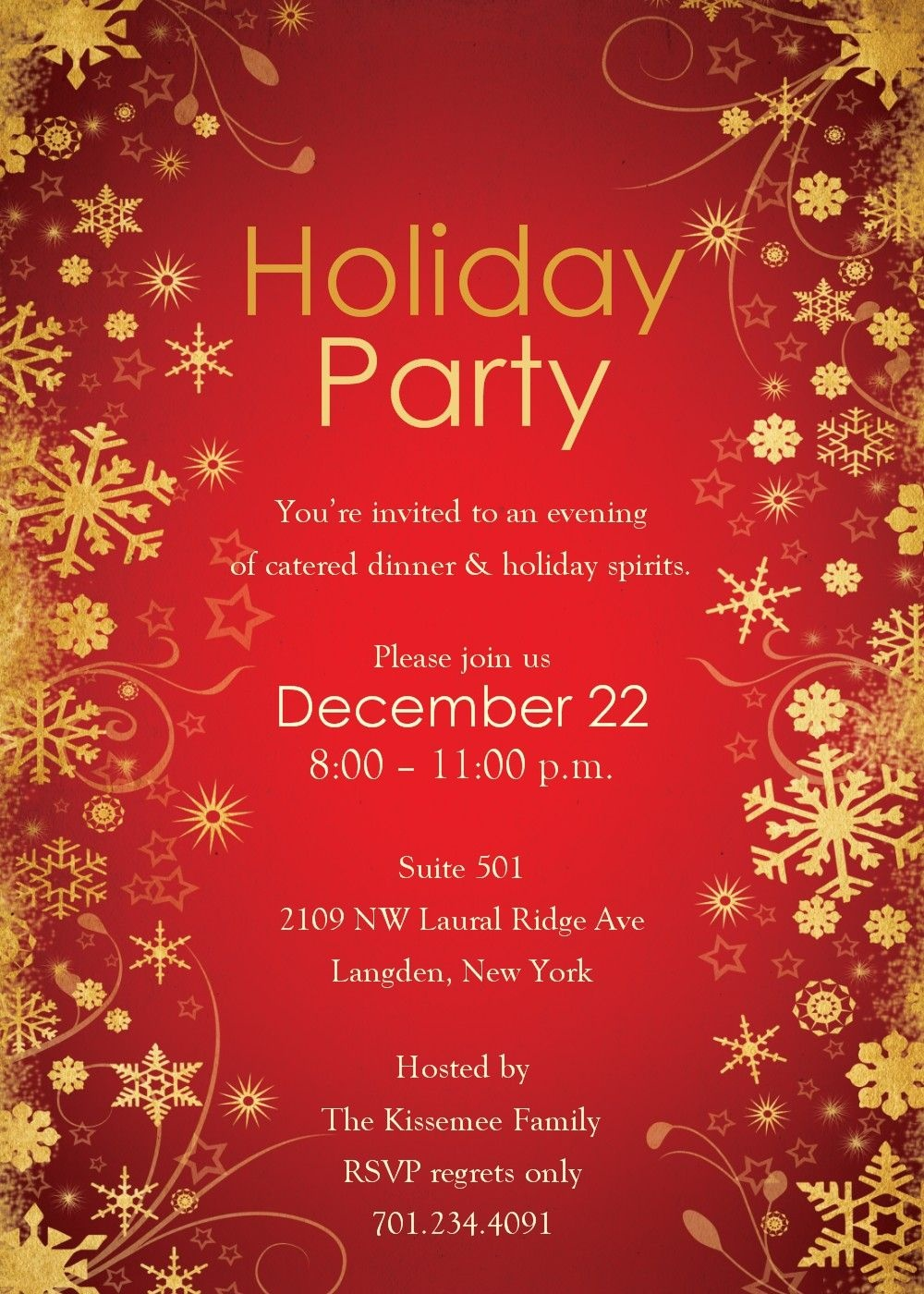 001 Free Holiday Invite Templates Template Ideas Unbelievable - Holiday Invitations Free Printable
