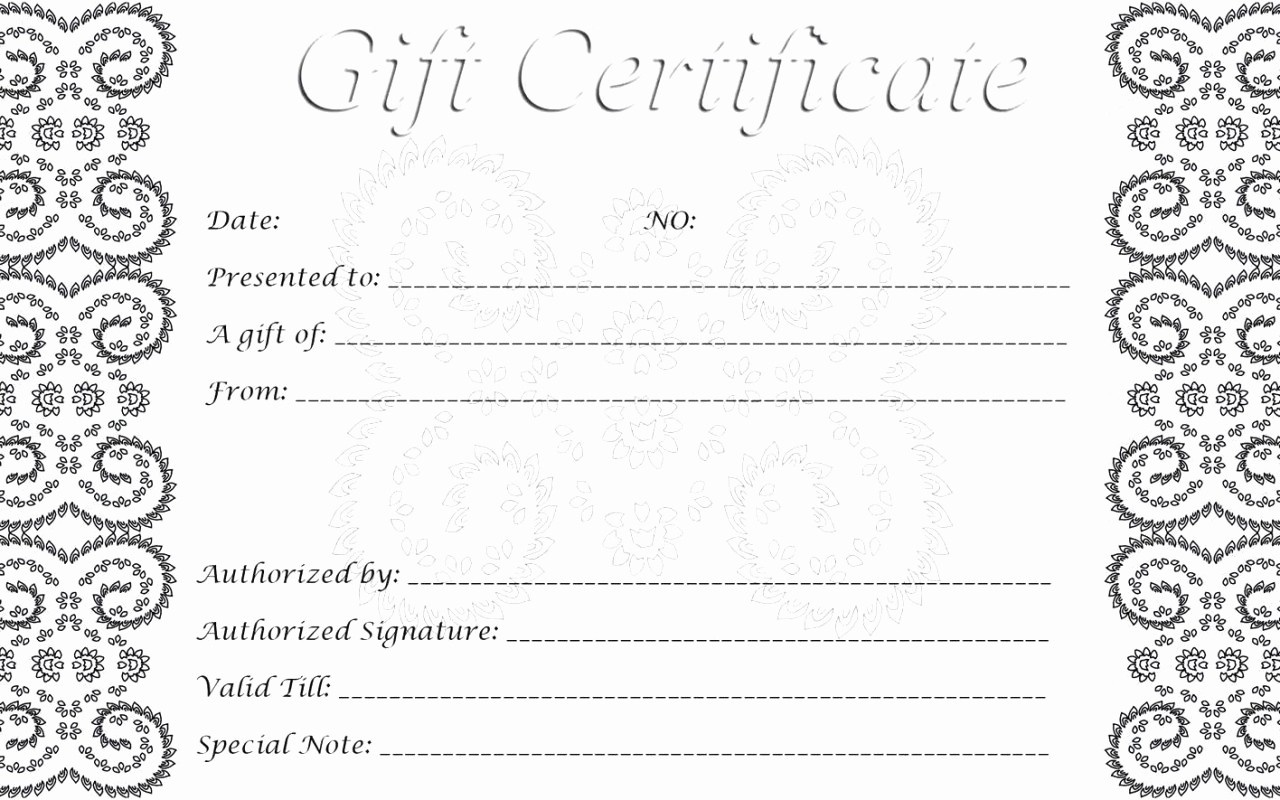 012 Free Printable Gift Certificate Templates Template Ideas Card - Free Printable Gift Cards
