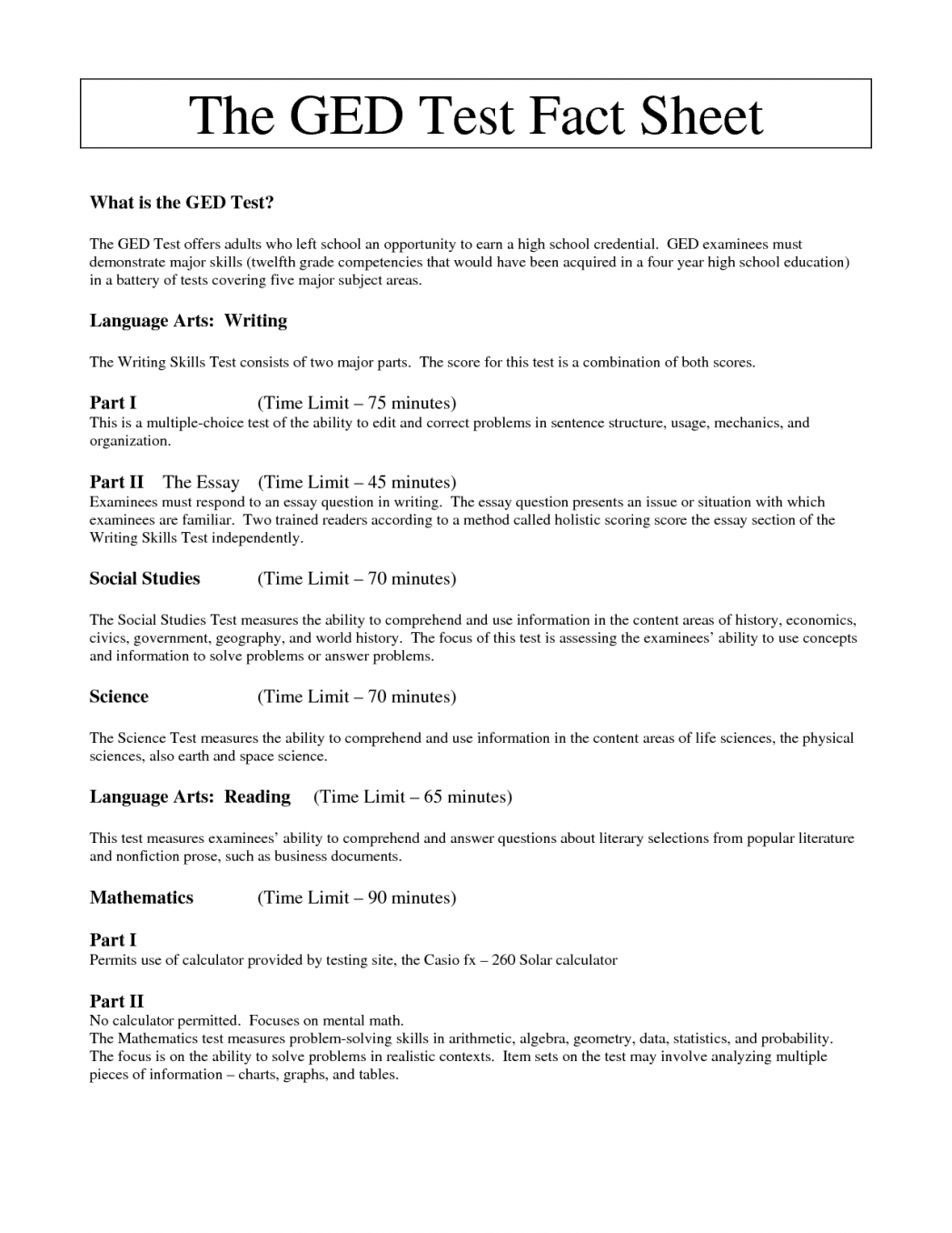 016 Ged Essay Examples Write My Online Free How To An For Test Com - Free Ged Practice Test 2016 Printable