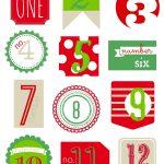 12 Days Of Christmas Free Printable   Tammy Beyer   Christmas - Free Printable 12 Days Of Christmas Gift Tags