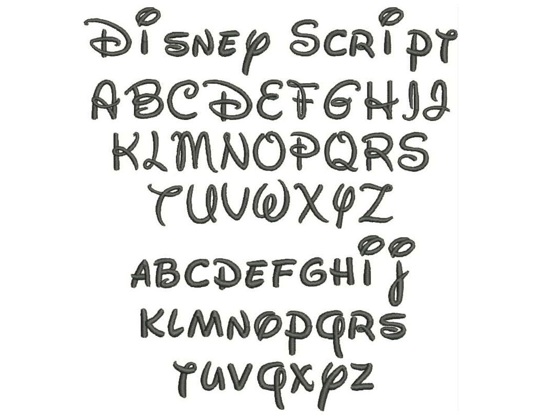 12 Disney Font Letter Stencils Images - Disney Font Alphabet Letters - Free Printable Disney Font Stencils