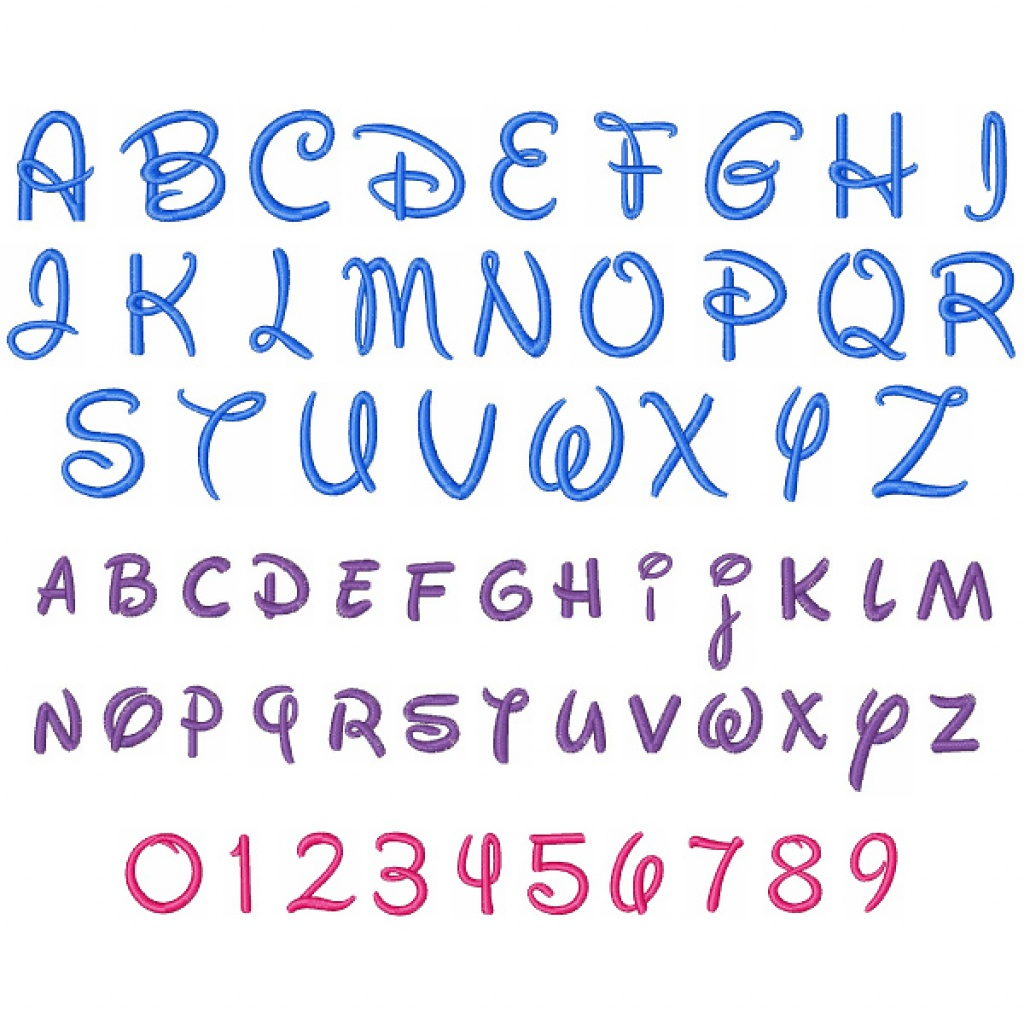 14 Lovely Disney Letter Stencils For All   Kittybabylove - Free Printable Disney Font Stencils