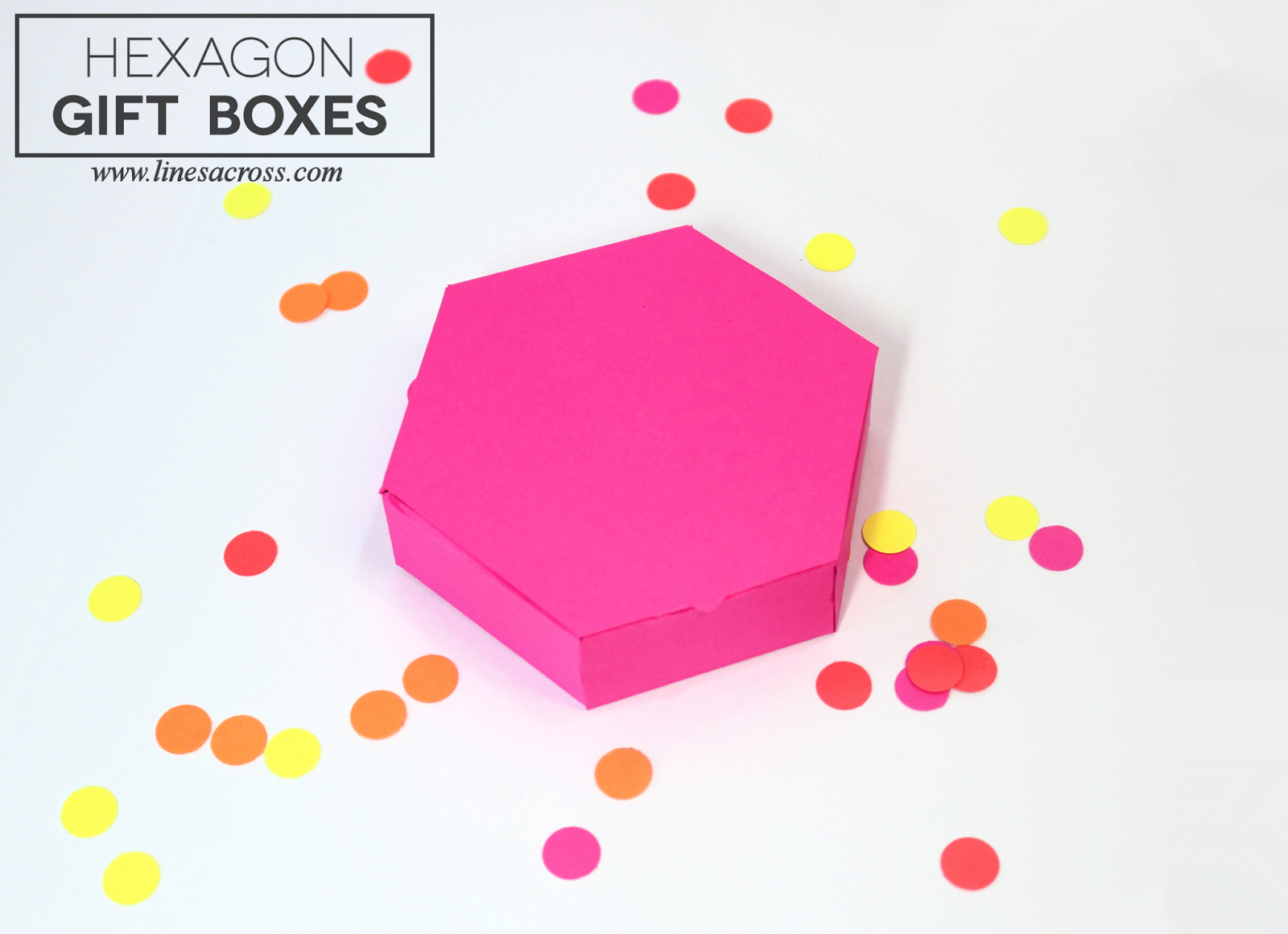 15 Paper Gift Box Templates - Lines Across - Gift Box Templates Free Printable