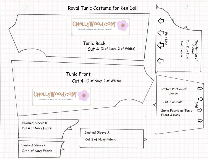 Free Printable Doll Clothes Patterns For 18 Inch Dolls