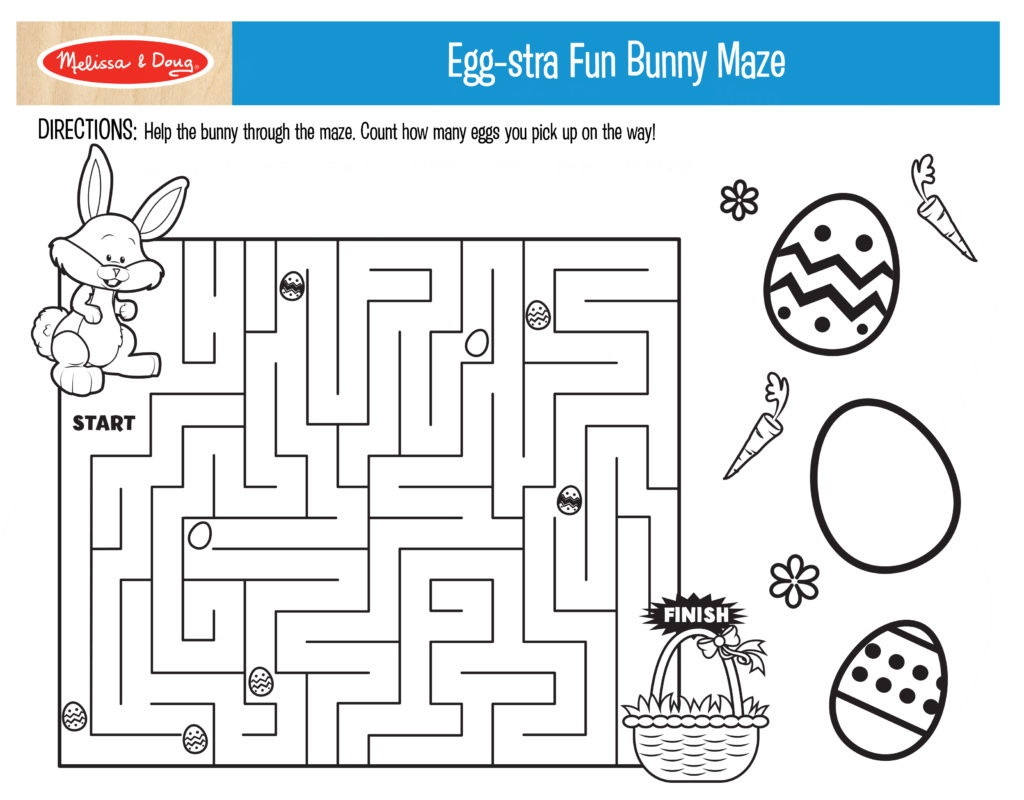 3 Free Printables For Easter Activities!   Melissa & Doug Blog - Free Printable Craft Activities