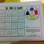 3D Shapes | Kristen's Kindergarten   3D Shape Bingo Free Printable