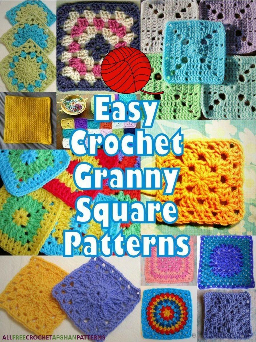 46 Easy Crochet Granny Square Patterns | Crochet Blocks | Granny - Free Printable Crochet Granny Square Patterns