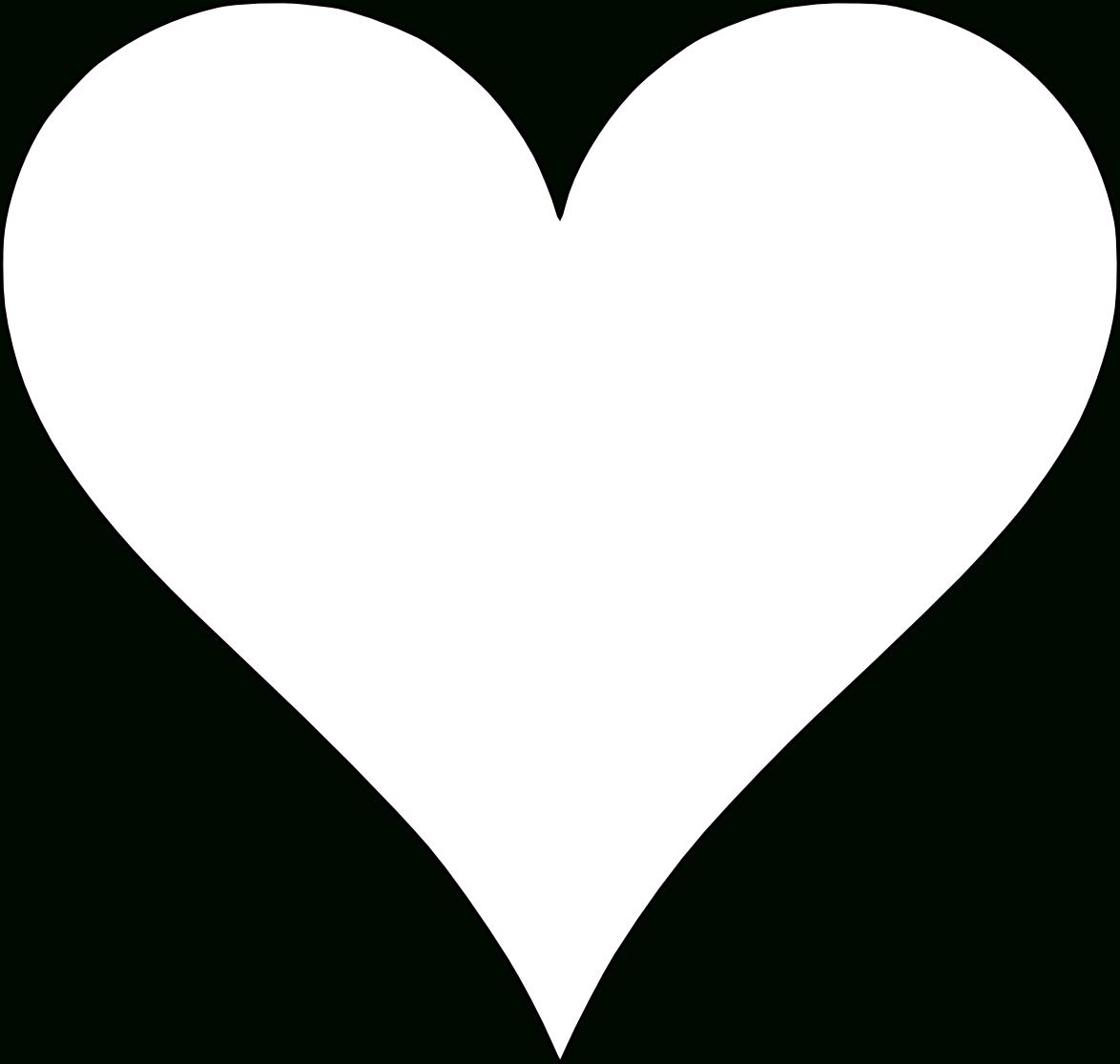 6 Free Printable Heart Templates   Heart Template, Printable Hearts - Free Printable Hearts