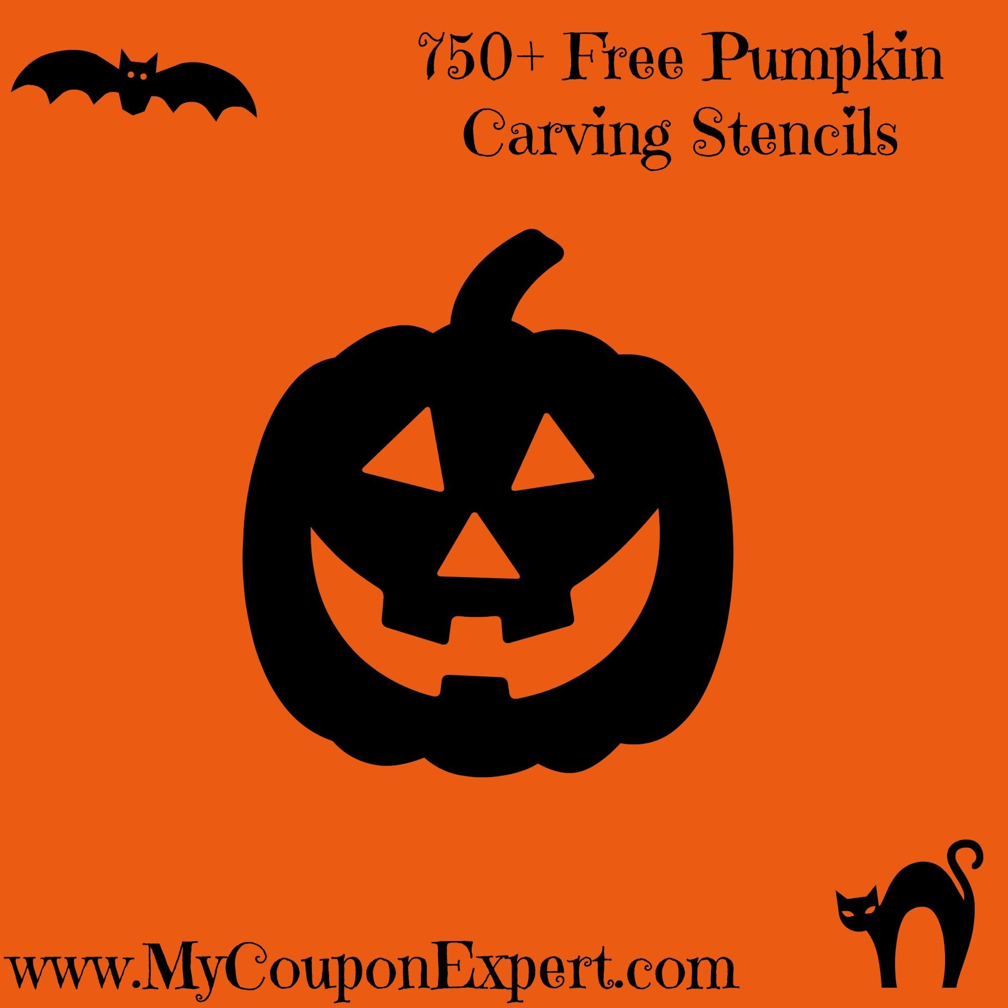 750+ Free Pumpkin Carving Stencils · - Pumpkin Carving Patterns Free Printable