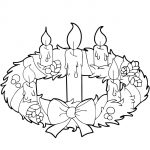 Advent Wreath And Candles Coloring Page | Free Printable Coloring Pages – Free Printable Advent Wreath