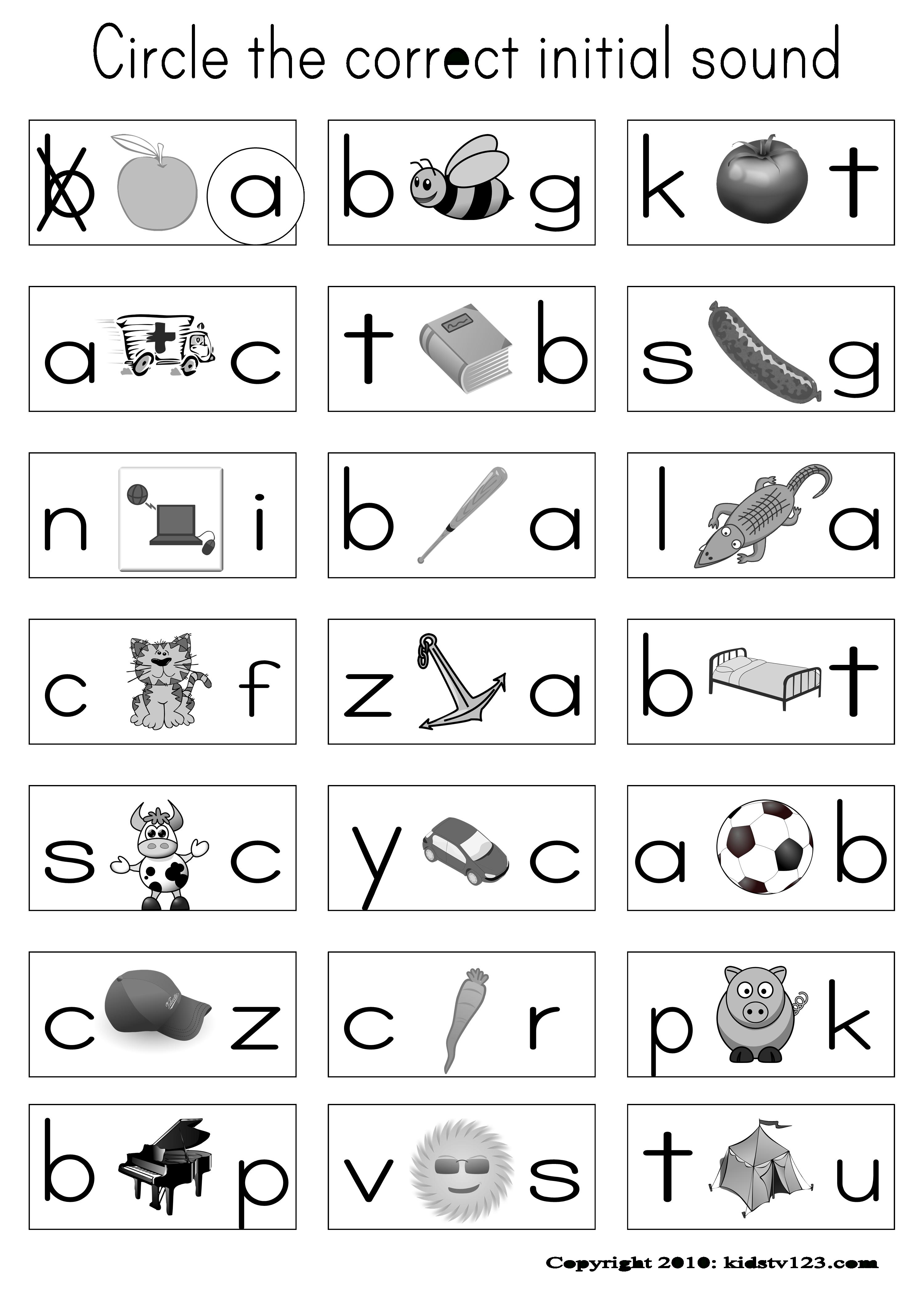 Alphabet & Phonics Worksheets | Phonics | Phonics Worksheets - Free Printable Phonics Assessments