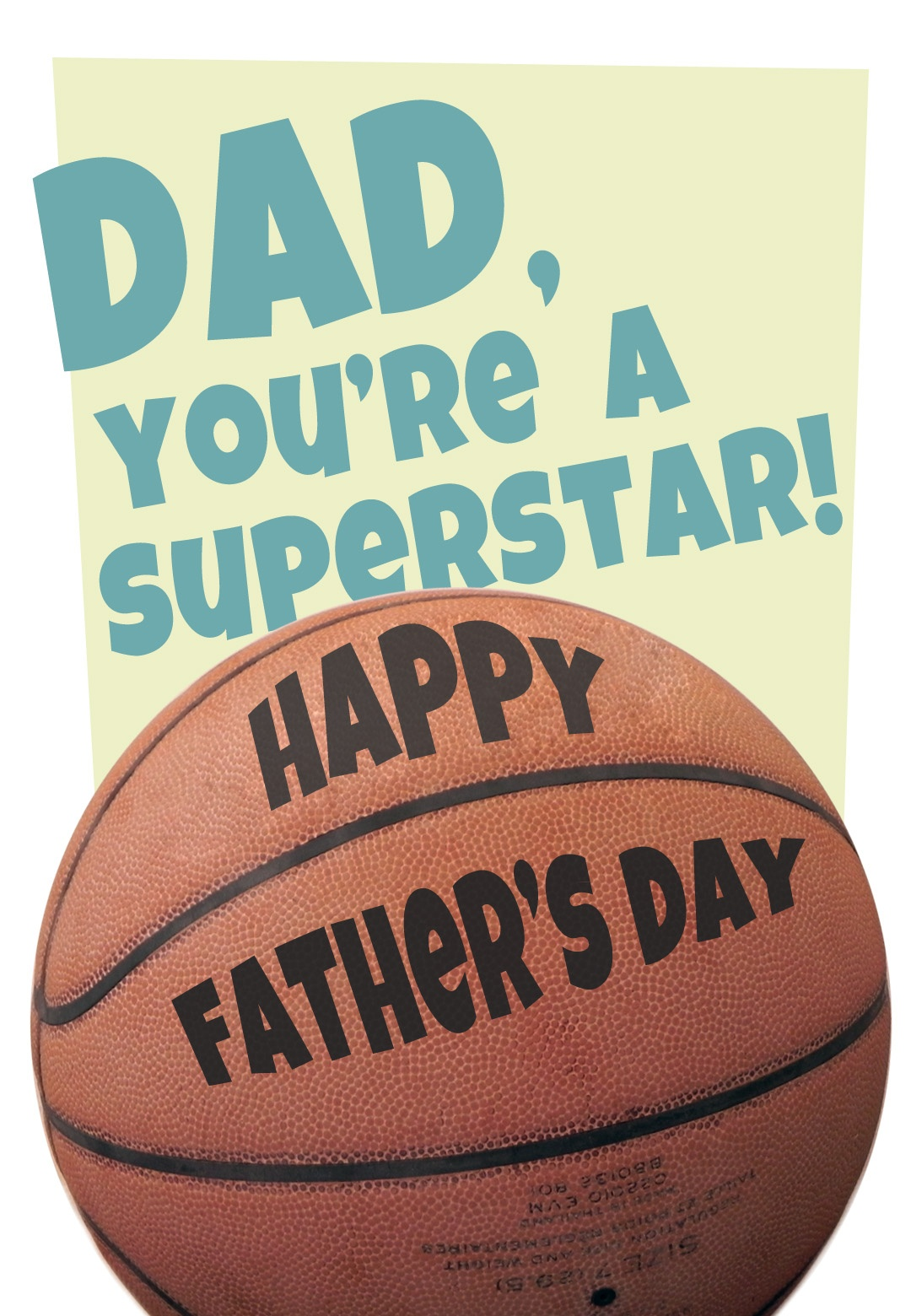 Basketball - Father's Day Card (Free) | Greetings Island - Free Printable Basketball Cards