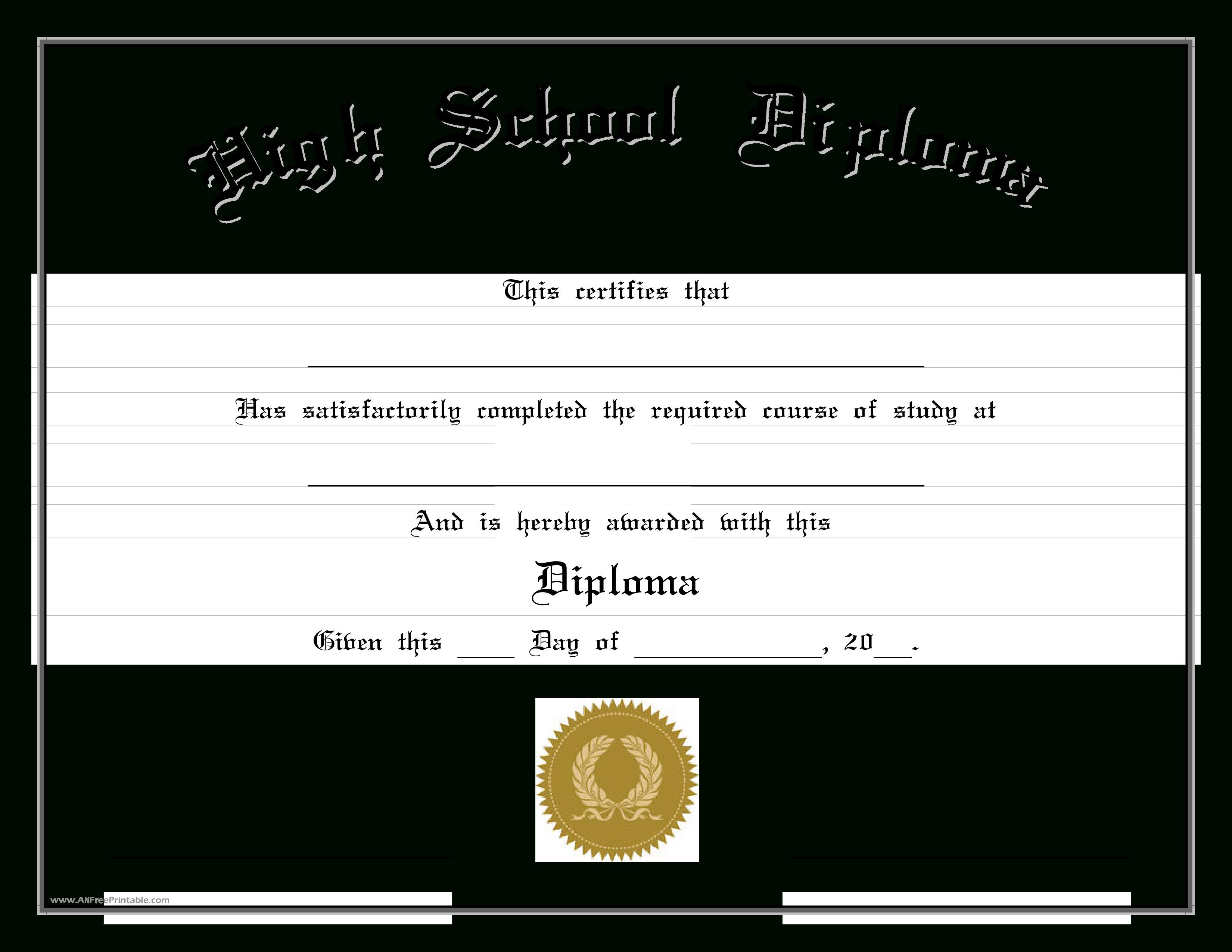 Beautiful Diploma Template Free Download Ideas Certificate - Free Printable School Certificates Templates