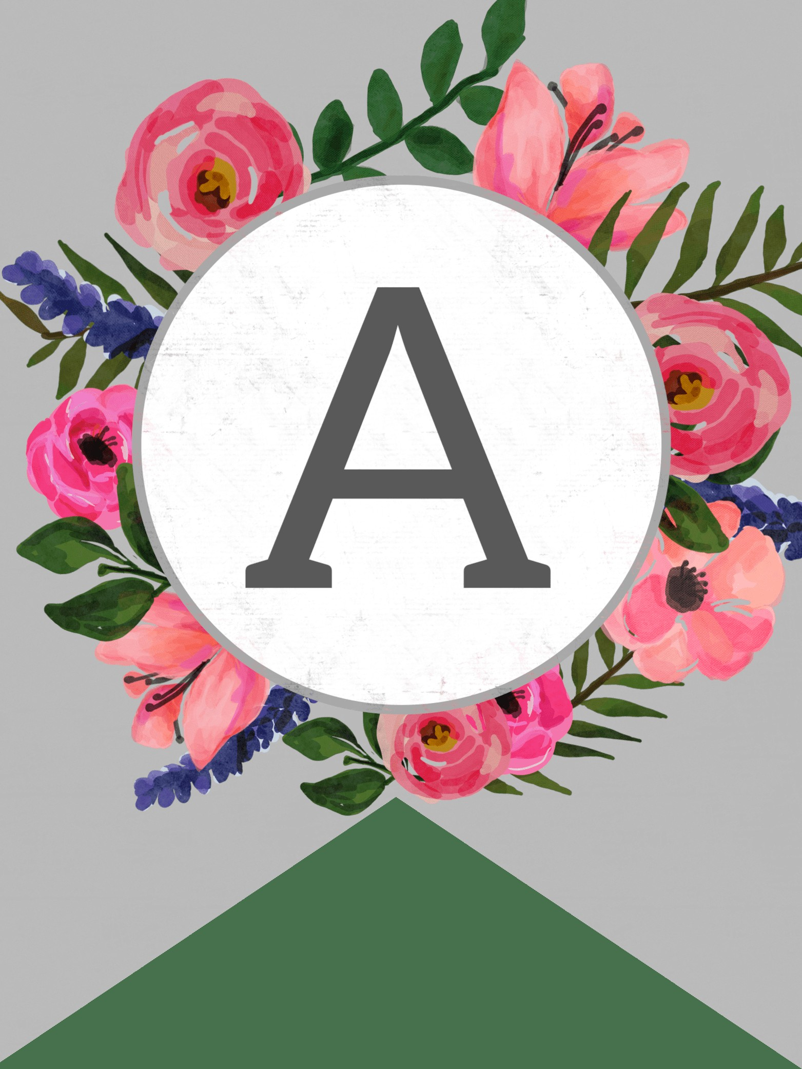 Best Of Free Printable Alphabet Letters Banner   Www.pantry-Magic - Free Printable Flower Letters
