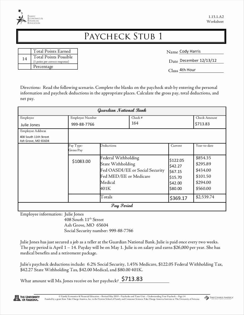 Blank Pay Stub Template Pdf Lovely 9 Free Pay Stub Templates Word - Free Printable Check Stubs