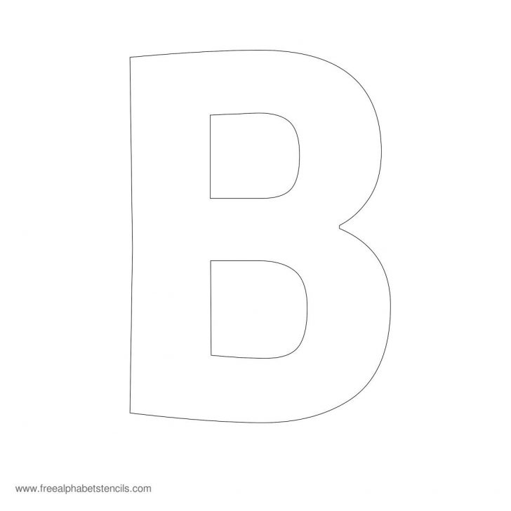 Free Printable 4 Inch Block Letters