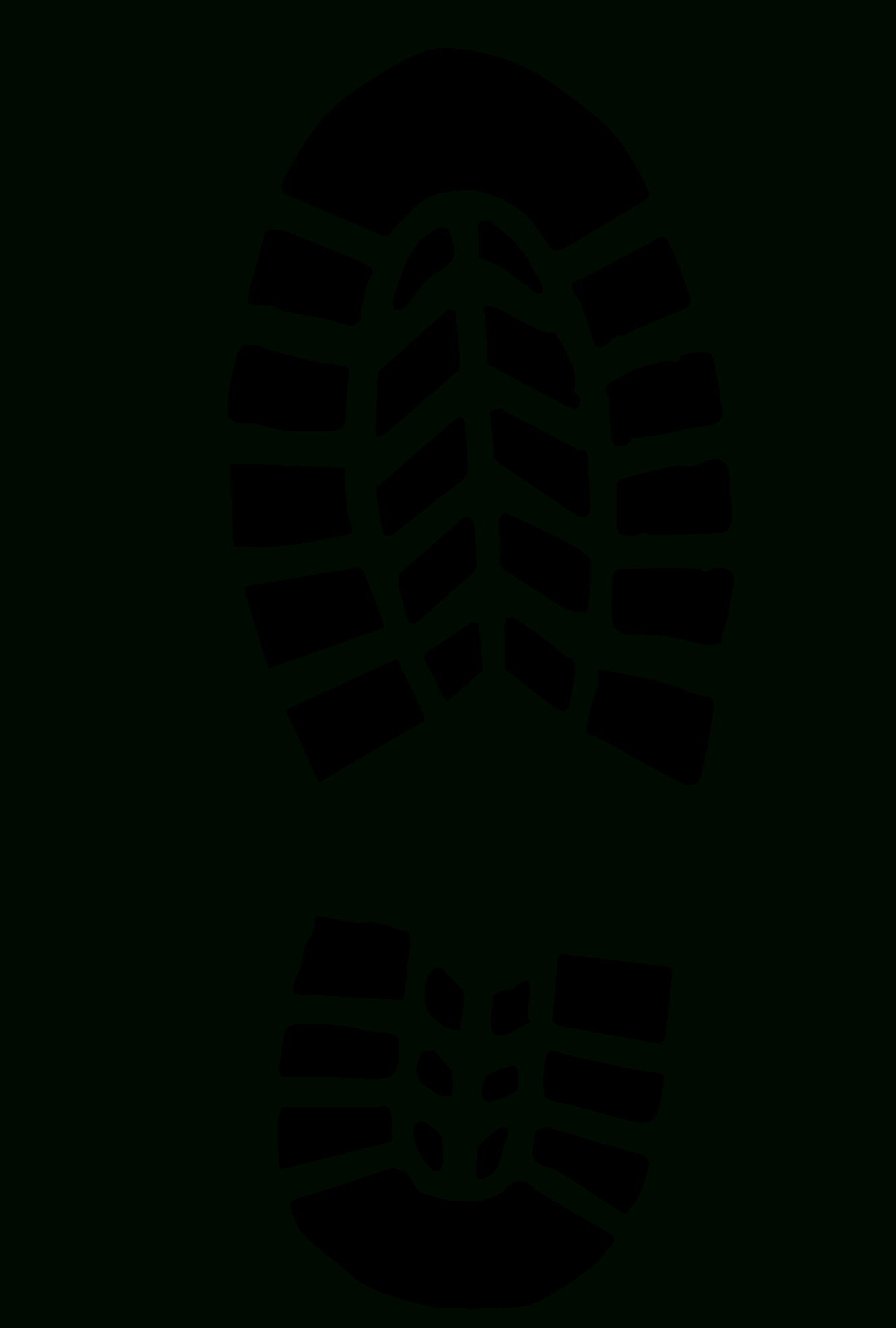Boot Prints | School | Footprint, Shoes, Templates Printable Free - Free Printable Shoe Print Template