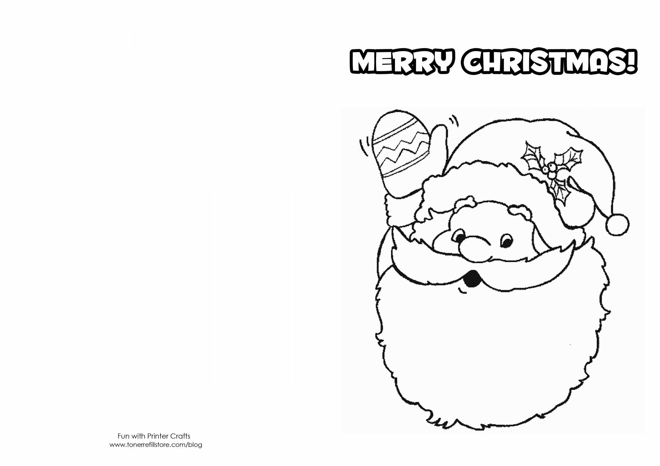 Christmas Card Coloring Pages For Free Download. Card Coloring Pages - Free Printable Christmas Cards To Color
