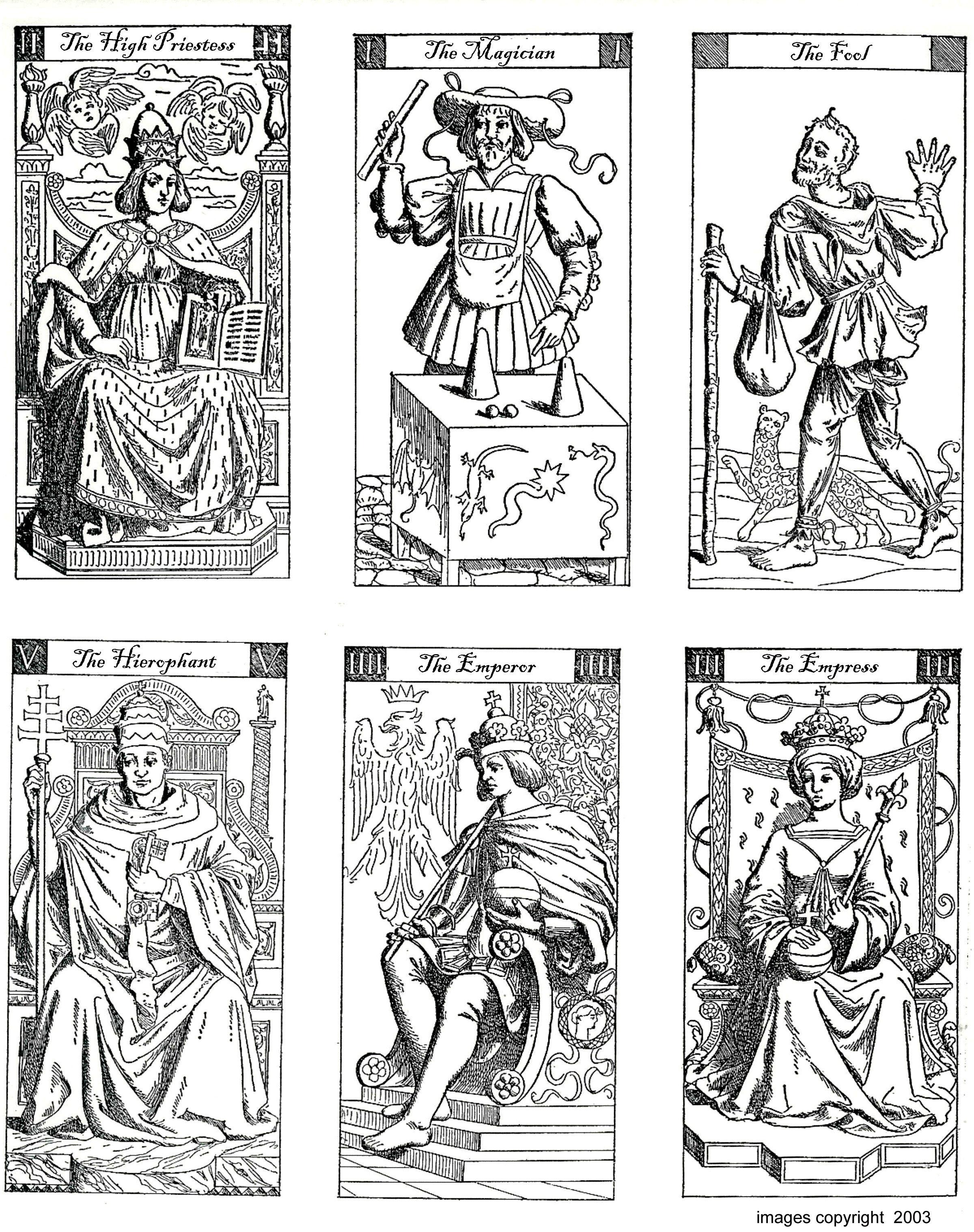 Color Your Own Tarot | Art Group | Free Tarot Cards, Diy Tarot Cards - Free Printable Tarot Cards