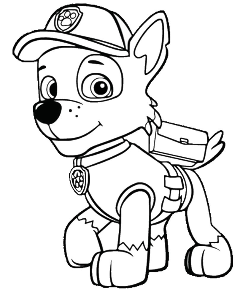 Coloring Book World ~ Paw Patrol Printables Marshall Coloring Pages - Free Printable Paw Patrol Coloring Pages