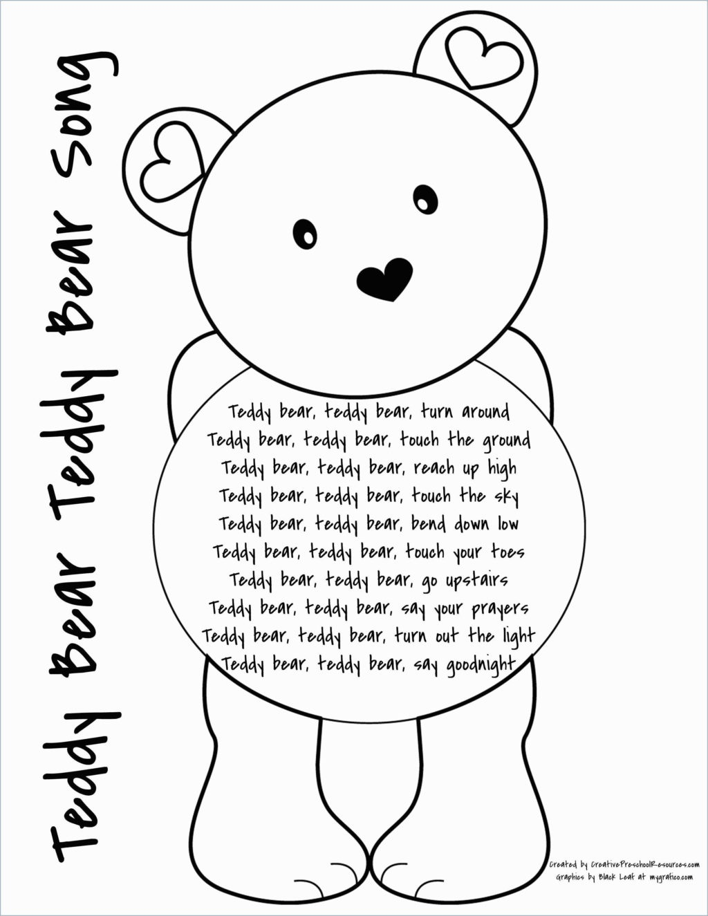 Coloring Book World ~ Teddy Bear Coloring Pages Book World For Kids - Free Printable Good Touch Bad Touch Coloring Book