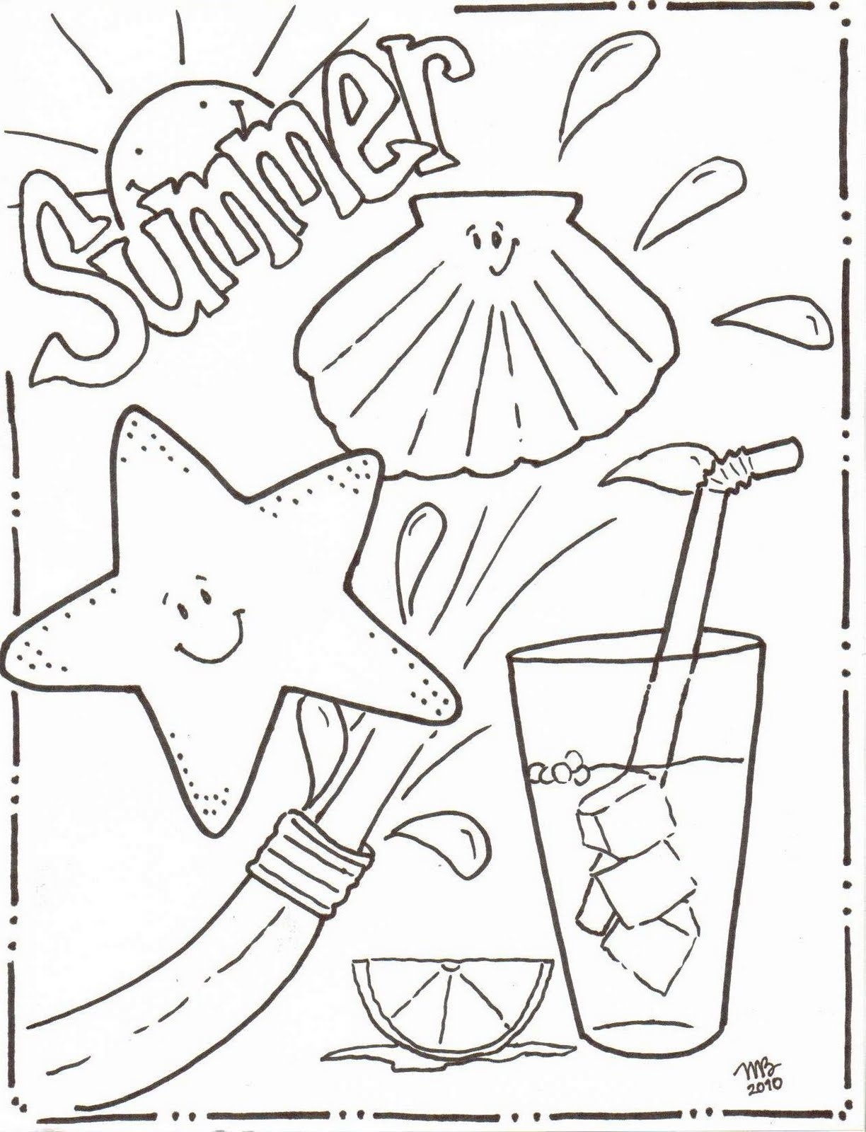 Coloring Pages : Indianer Coloring Pages For Adults Printable Modern - Summer Coloring Sheets Free Printable