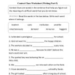 Context Clues Worksheet Writing Part 5 Intermediate | Word Smith - Free Printable 5Th Grade Context Clues Worksheets
