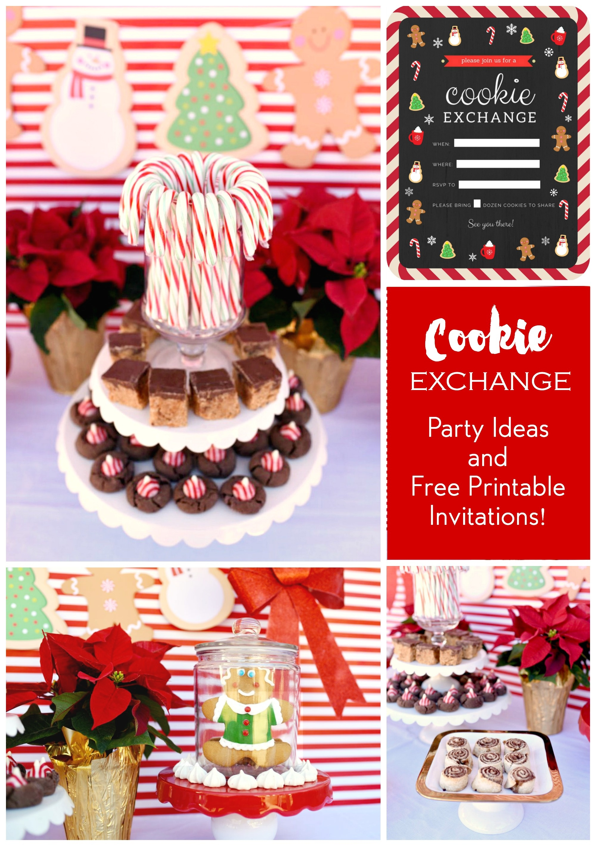 Cookie Exchange Party + Free Party Invitations - Make Life Lovely - Free Printable Cookie Decorating Invitations