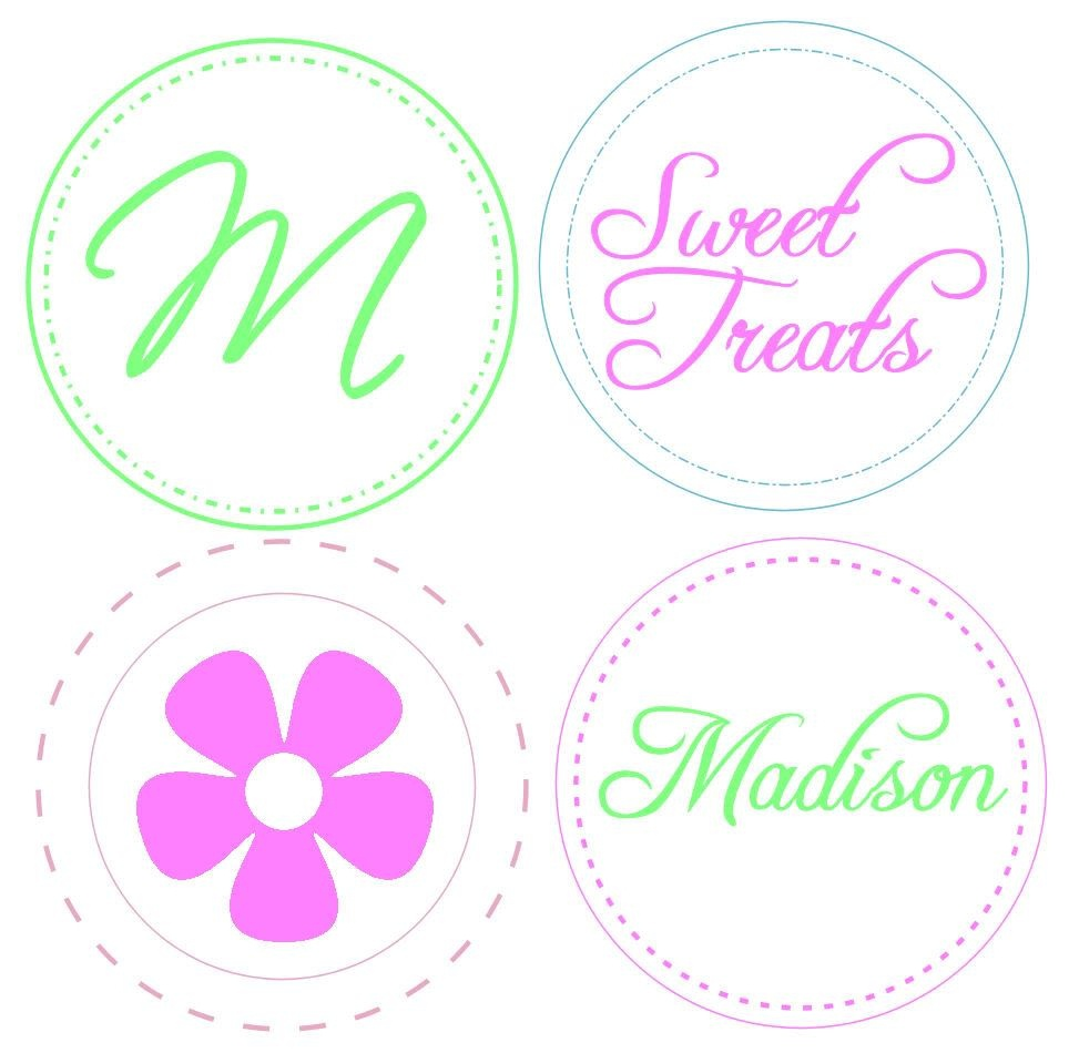 Cupcake Toppers {Free Printable} And More Free Printable Templates - Baptism Cupcake Toppers Printable Free