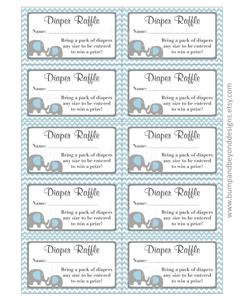 Diaper Raffle Tickets Free Printable - Yahoo Image Search Results - Free Printable Diaper Raffle Ticket Template