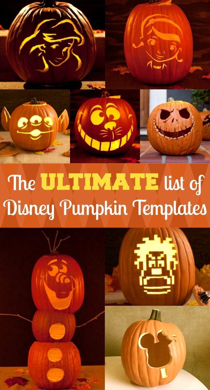 Disney Pumpkin Stencils | Halloween Ideas | Pumpkin Carving Disney - Pumpkin Carving Patterns Free Printable