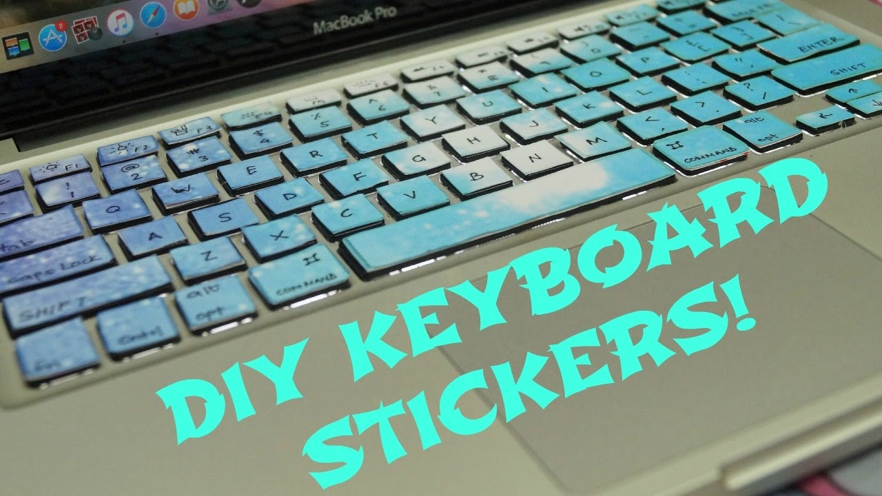 Diy Keyboard Stickers - Youtube - Free Printable Keyboard Stickers