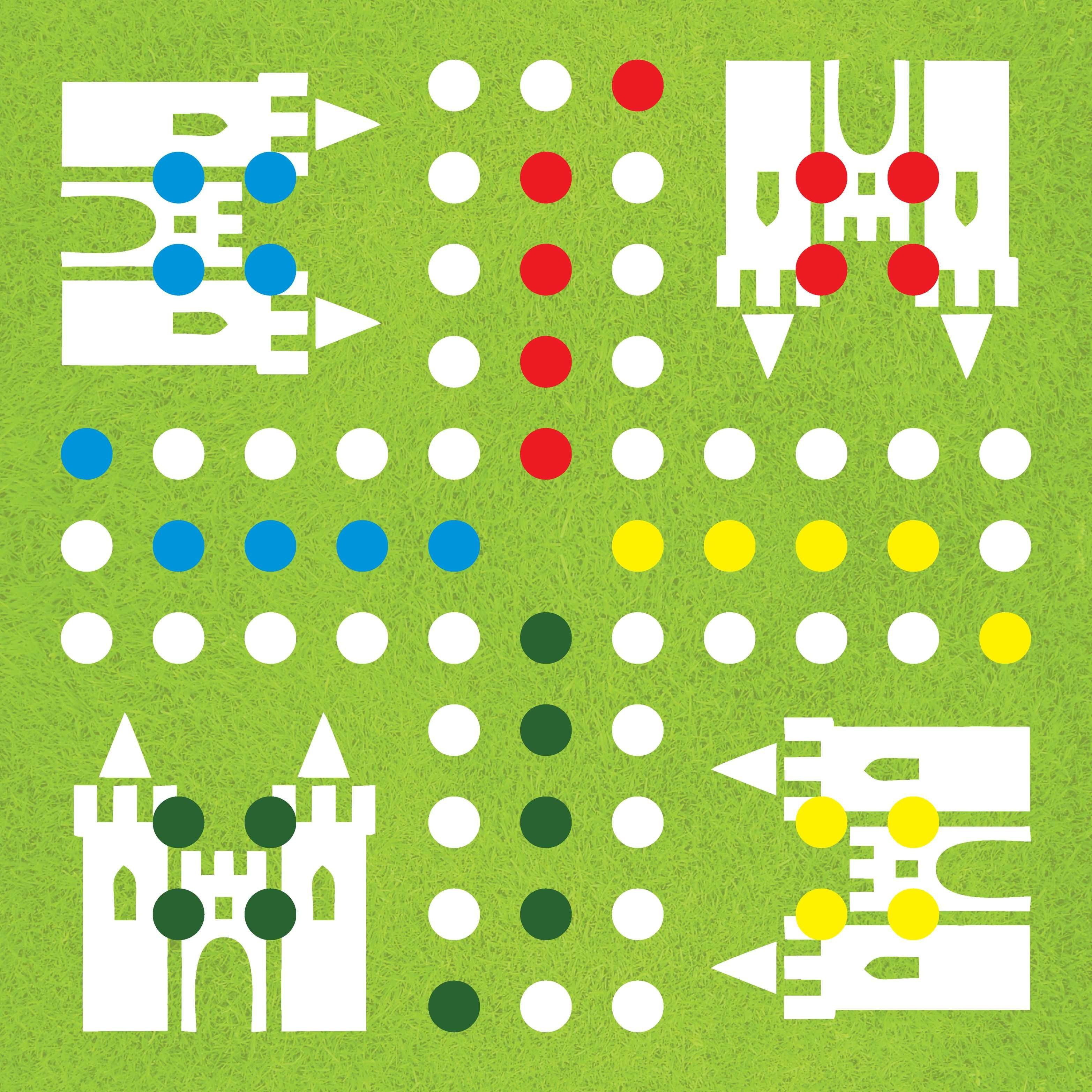 Diy-Ludo-Board-Game-Template -   Board Game   Társasjátékok, Játék - Free Printable Ludo Board