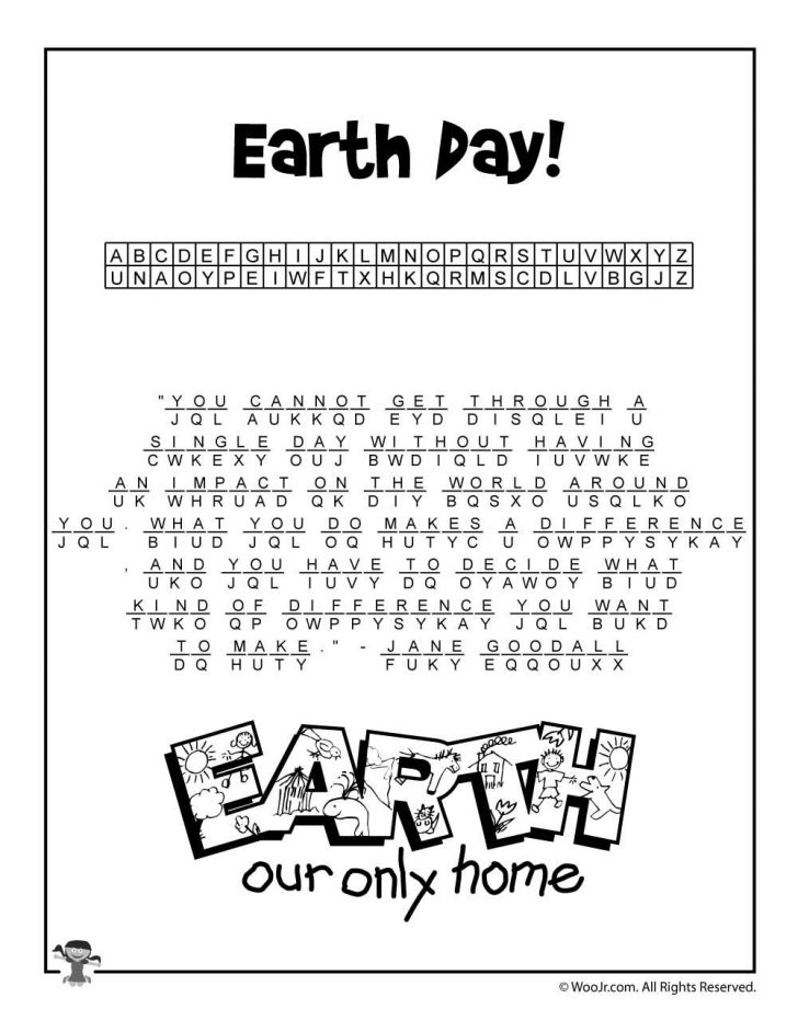 Free Printable Cryptograms With Answers